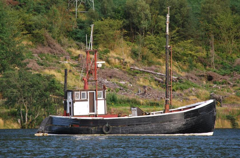 Fishing Boat, Loch Lochy, Scotland