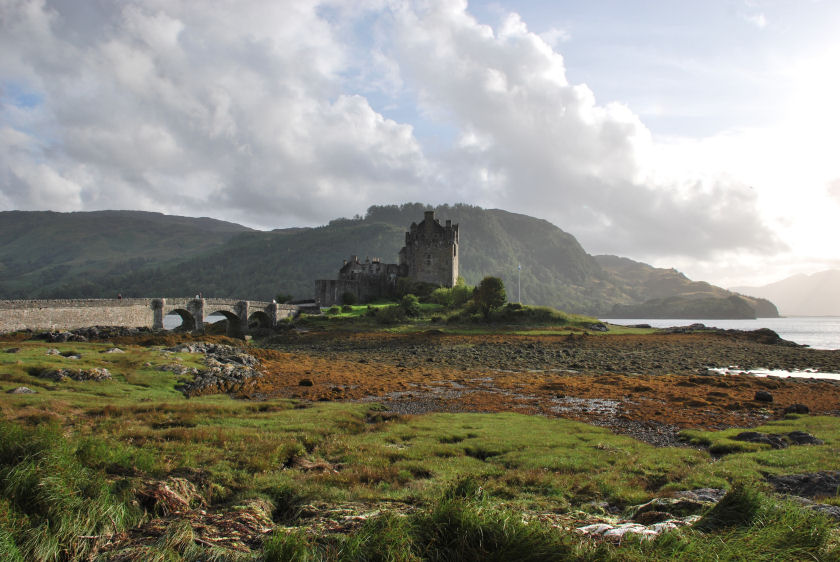 Eilean Donan Castle, West Highlands of Scotland