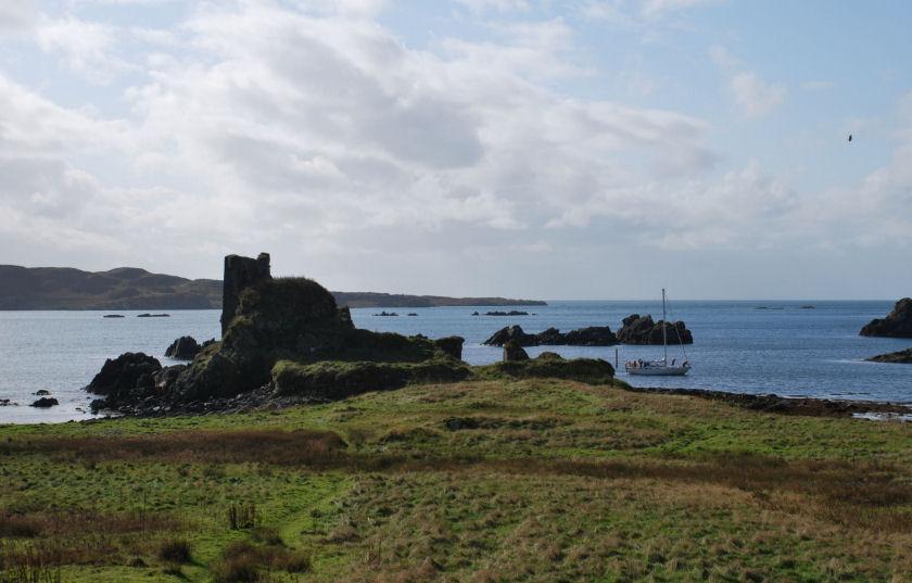 Dunyvaig Castle, Lagavulin, Islay, Scotland