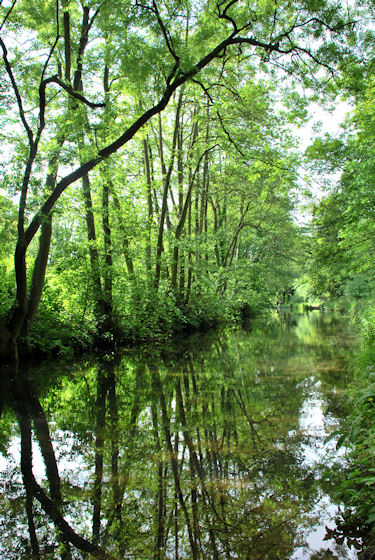 Cromford Canal, Cromford, The Peak District, UK