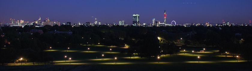 London from Primrose Hill, London, UK